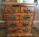 's house furniture / Apprentice Piece Chest of drawers Tiger pine c1880