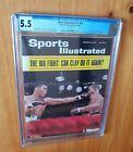 Sports Illustrated 1964 Clay Liston 2 Newsstand CGC 5.5 One Higher POP 1
