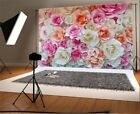 Blooming Rose Flower Wall 7x5 Photography Background Vinyl Photo Backdrop Props
