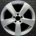 Mercedes Benz E Class All Silver 18 inch OEM Wheel 2010 2013 2124011302 A21240