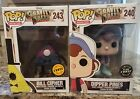 Funko Pop Chase Gravity Falls Dipper Pines, Bill Cipher Limted Edition