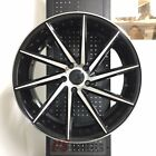 19 SWIRL STYLE BLACK MACH WHEELS RIMS MAZDA 3 6 MAZDASPEED3 MAZDASPEED6 RX7 RX8