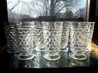 7 Water Ice Tea Footed Tumbler Glasses 6