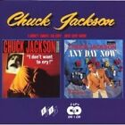 CHUCK JACKSON - I DON'T WANT TO CRY/ANY DAY NOW  CD NEW+
