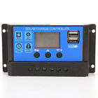12V 24V Solar Panel Battery Regulator Charge Controller 20A PWM LCD Display HU