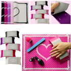 Silicone Removable Dot Heart Nail rt Table Mat Pad Pillows Manicure Clea !