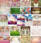 5x7 6x9 8x8ft Flower Photography Wedding Backgrounds Floral Photo Backdrops Prop