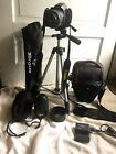 Nikon D5000 Two Lenses 18 55mm  55 200mm And Other Accesories NO FLASH