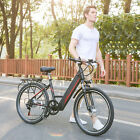 Ancheer Folding 26 Electric Mountain Bike Bicycle Ebike  W Lithium Battery