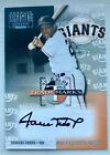 Willie Mays Numbered Auto (#197 197) Donruss Team Trademarks Certified On-Card