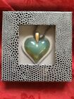 NIB FLAWLESS Exquisite LALIQUE PENDANT Crystal HEART COEUR NECKLACE