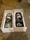 DALE EARNHARDT SR AND DALE JR 1 24 DIECAST CARS
