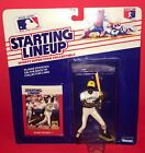 1988 Kenner SLU Starting Lineup Figure Barry Bonds Rookie With Baseball Card