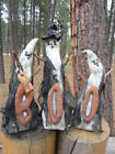 Primitive Folk Art Dolls Three Ghosts BOO They Are A Set Fall Autumn Halloween