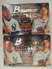 2017 BOWMAN HIGH TEK FACTORY SEALED HOBBY 2 BOX LOT 8 AUTOGRAPHS