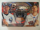2017 BOWMAN HIGH TEK FACTORY SEALED HOBBY BOX 4 AUTOGRAPHS