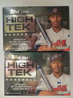 2017 TOPPS HIGH TEK FACTORY SEALED HOBBY 2 BOX LOT 4 AUTOGRAPHS