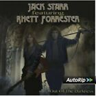 JACK STARR FEATURING RHETT FORRESTER - OUT OF THE DARKNESS (RE-RELEASE)  CD NEW+