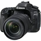 Canon EOS 80D 242MP DSLR Camera with 18 135mm Lens Kit 1263C006 FREE SHIPPING