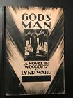 GODS MAN A NOVEL IN WOODCUTS by Lynd Ward 1st 2nd Hardcover  Graphic novel