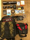 Canon EOS 7D bundle + 5 lenses and tons of accessories