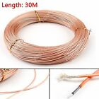 30m RG178 RF Coaxial Kable Steckverbinder 50ohm M17/93-RG178 Coax Pigtail 98ft
