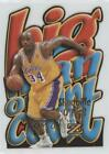 1996 Skybox Z Force Big Men on Court #8 Shaquille O'Neal Los Angeles Lakers Card