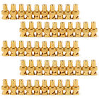 50 Pcs Gold Plated BNC Female To RCA Phono Male Adapter Connector Adapter UE