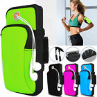 Mobile CELL Phone Armband Pouch Case Sports GYM Running Exercise Arm Band Holder