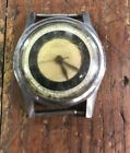 Vintage Lemania Military Style 192G Hand Wind Mechanic 17J Watch - AS-IS