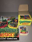 Topps Dinosaurs Attack Cards Set Box Unopened Packs And Poster Lot