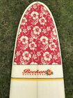 710 BECKER Supermodel Flower Design Surfboard Longboard Surfer Girl Roxy