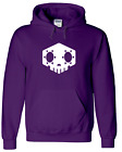Sombra Hacked Skull Game hoodie sweatshirt hooded XBOX PS4 PC All colors