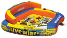 NEW AIRHEAD AHLW 3 Live Wire 3 Inflatable 1 3 Rider Boat Towable Lake Water Tube