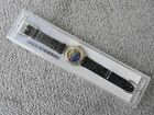 Swatch Automatic Watch 1993 Nachtigall SAK104 Leather Strap new in case WORKS