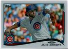 2014 Topps Jake Arrieta Clear #09 10 - Chicago Cubs