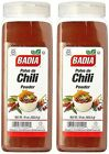 2 PACK Badia Spices Chili Powder Season for Burger Tacos hot en polvo 16 Oz ea