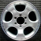 Nissan Pickup Machined Lip w Silver Spokes 17 inch OEM Wheel 2001 2003 403009