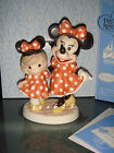 Precious Moments Disney Minnie & Me Signed by Hiko in two languages