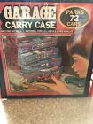 Vintage 1984 Tara Toy Corp Garage Carry Case Parks 72 Hot Wheels Matchbox Cars
