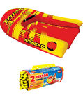 Airhead EZ Wake Trainer Inflatable Towable Boat Wakeboard Tube w 60 Tow Rope