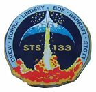 Sts 133 Mission Lapel Pin Official Nasa Space Program Edition