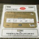 NIP 10 pages Pioneer 12 x 12 Top Loading White Refill Pages