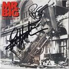 MR. BIG Lean Into It PAUL GILBERT Eric Martin To Be With You CD Autograph SIGNED