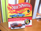 1970 Hot Wheels Redline Mighty Maverick SUPER RARE ORANGE w BLACK ROOF BLISTER