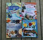 Scrapbooking Idea Books Lot of 4 Sterling Publishing Instruction Stamps Crafts