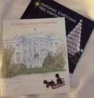 PRES OBAMA 2014 CHRISTMAS HOLIDAY TOUR WHITE HOUSE BOOK CARD w TREE BOOKLET