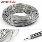 50m RG405 RF Coaxial Kable Steckverbinder Flexible RG-405 Coax Pigtail 164ft