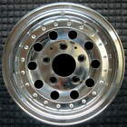 Ford Bronco Polished 15 inch OEM Wheel 1990 1996 F0TZ1007A FOTZ1007A