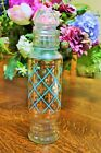 1950's Vintage Glass Bath Salts Apothecary Boudoir Jar with Lid